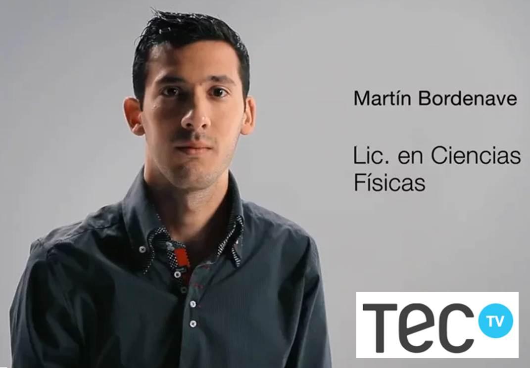 Martín en Tec Tv