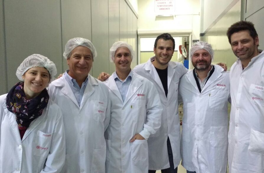 Cata y Fer en Wiener Lab