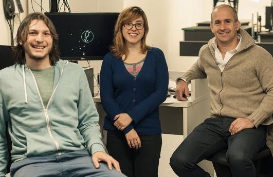 Julián, Ianina y Fernando